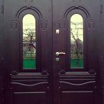Уличные входные бронированные двери на заказ