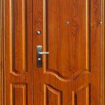 Двустворчатые двери в дом Mexin
