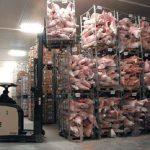 Рабочие на склад.Морозильные камеры Чехия