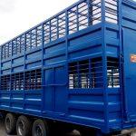 Продам напівпричіп для перевезення худоби.