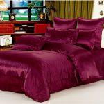 Модное атласное постельное белье