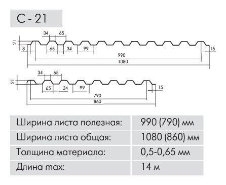 Профнастил от производителя в Харькове