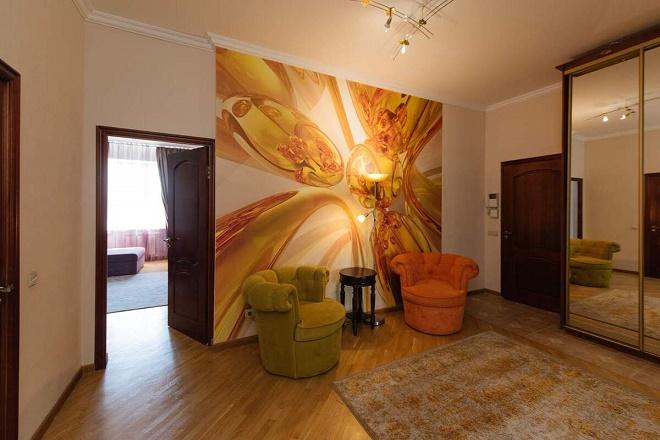 Видовая 3к квартира 126м2 с мебелью