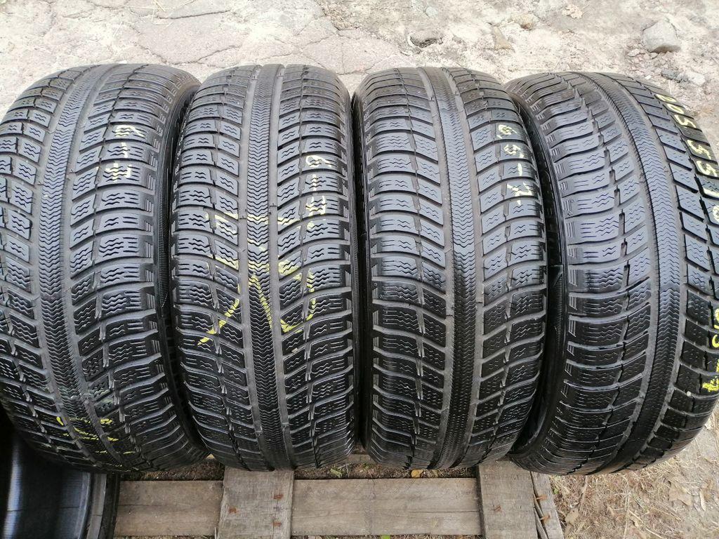 Michelin Primacy Alpin 205/55R16 шины бу зима