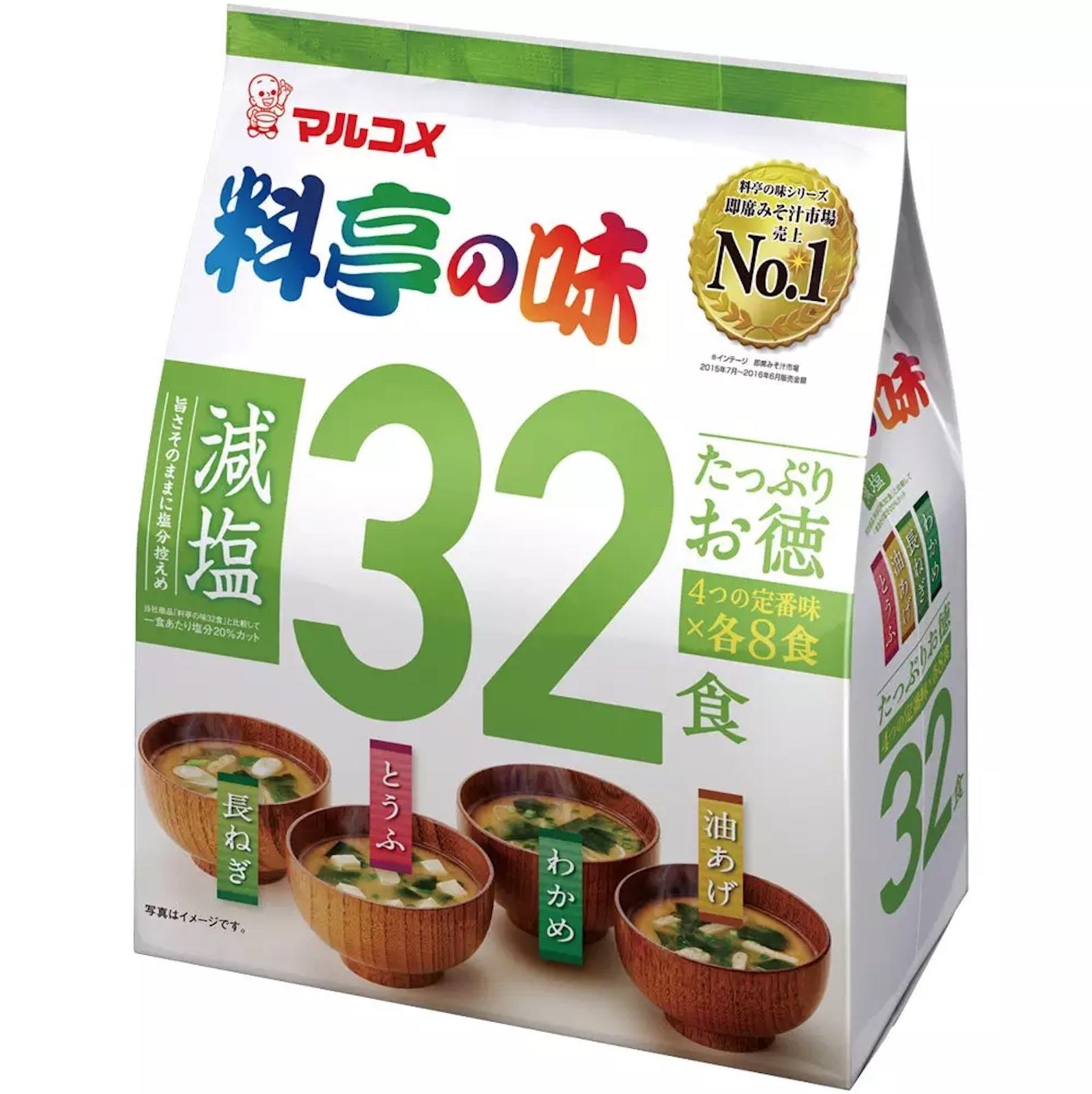 Настоящий японский Мисо суп Marukome