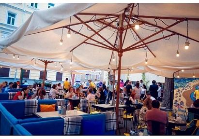 Продажа зонтов для кафе, ресторанов Одесса